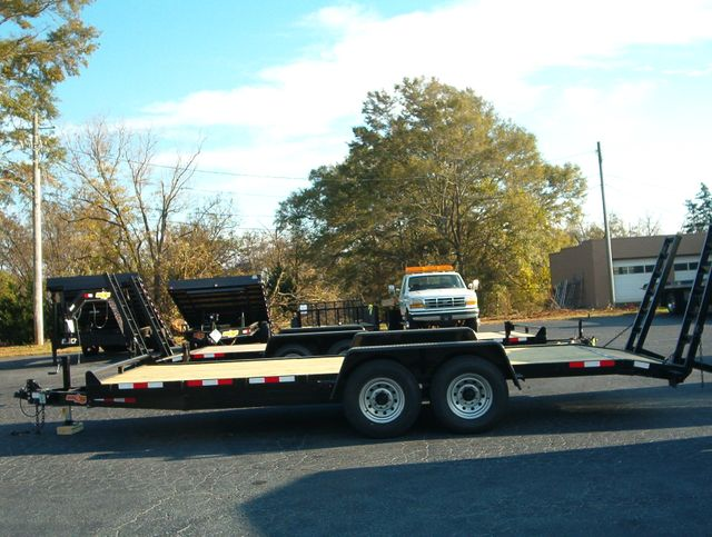 2020 Down To Earth 20 Ft 7 Ton Equipment