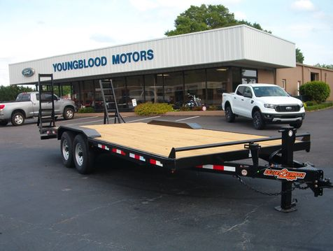 2019 Down To Earth 22 Ft Lowboy 7 Ton Drive Over Trailer  in Madison