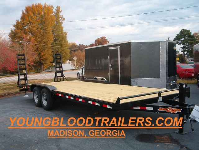 2020 Down To Earth 24 Ft Drive Over 7 Ton Trailer in Madison, Georgia 30650