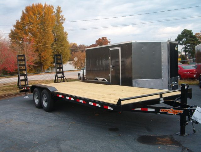 2019 Down To Earth 24 Ft Drive Over 7 Ton Trailer