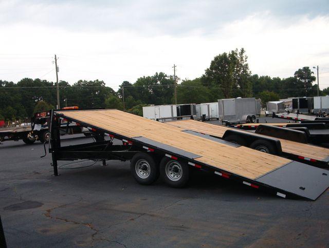2019 Down To Earth 24 Ft Gooseneck 7 ton Power Deckover in Madison, Georgia 30650