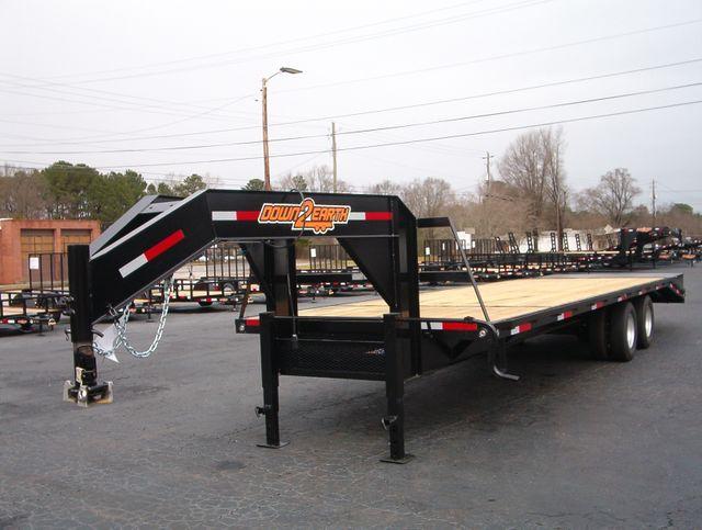 2020 Down To Earth 35 Ft 10 Ton Gooseneck Deckover in Madison, Georgia 30650