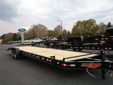 2019 Down To Earth 36 Ft 7 ton 2 Car Hauler  in Madison