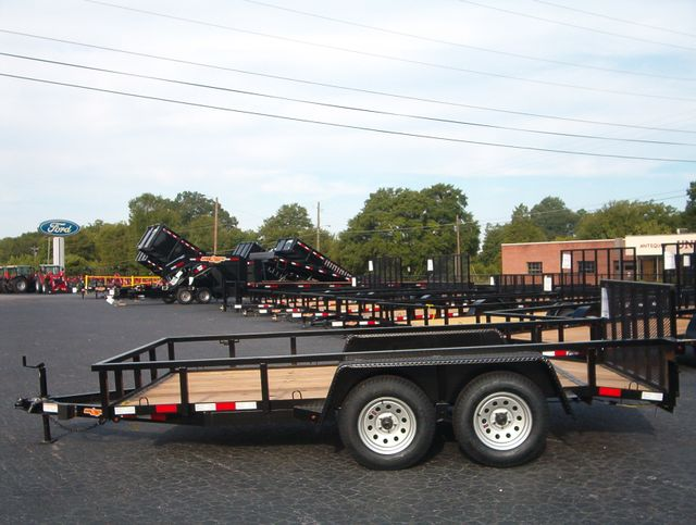 2019 Down To Earth Utility 6.4x14 Tandem in Madison, Georgia 30650