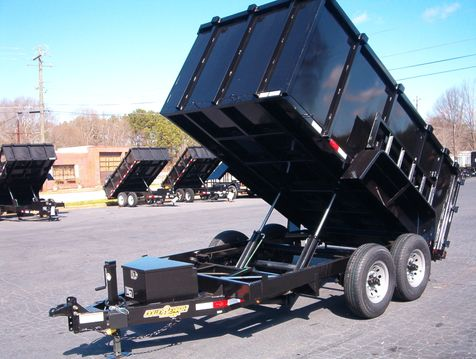2019 Dump Trailer Down To Earth Dump 6x12 4Ft Sides 7 Ton  in Madison