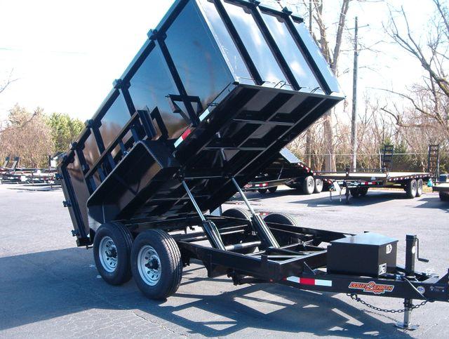 2019 Dump Trailer Down To Earth Dump 6x12 4Ft Sides 7 Ton in Madison, Georgia 30650