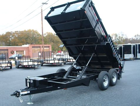2019 Dump Trailer Homesteader Dump 7x14 7 Ton   in Madison