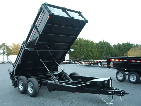 2019 Dump Trailer Homesteader Dump 7x14 7 Ton   in Madison
