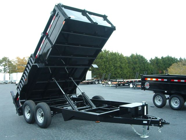 2019 Dump Trailer Homesteader Dump 7x14 7 Ton