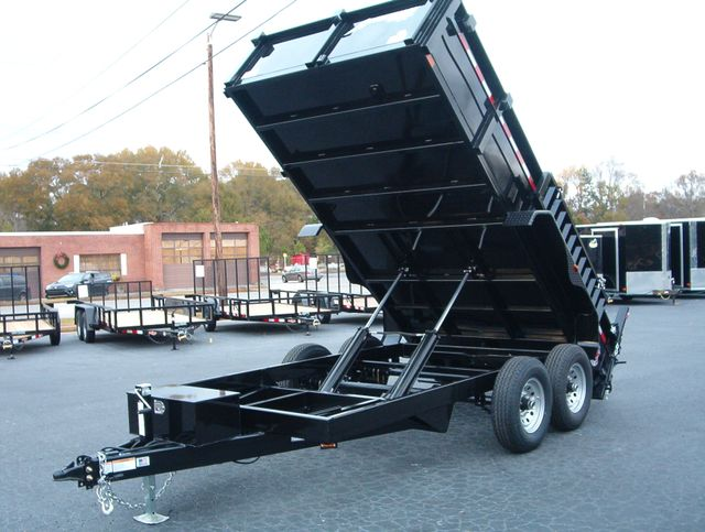 2019 Dump Trailer Homesteader Dump 7x14 7 Ton in Madison, Georgia 30650
