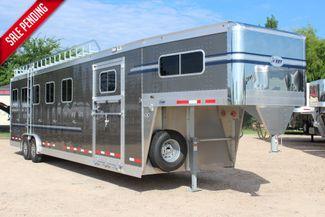 2019 Eby Legacy Series 5 + 1 Horse Slant Load CONROE, TX