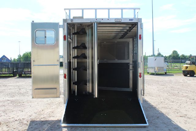 2019 Eby Legacy Series 5 + 1 Horse Slant Load CONROE, TX 16