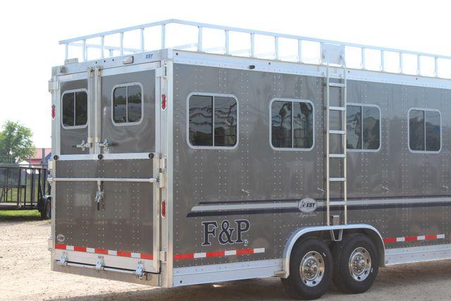 2019 Eby Legacy Series 5 + 1 Horse Slant Load CONROE, TX 27