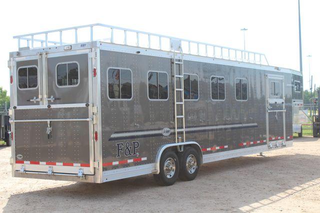 2019 Eby Legacy Series 5 + 1 Horse Slant Load CONROE, TX 30
