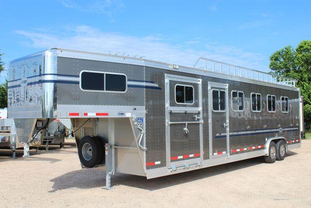 2019 Eby Legacy Series 5 + 1 Horse Slant Load CONROE, TX 8
