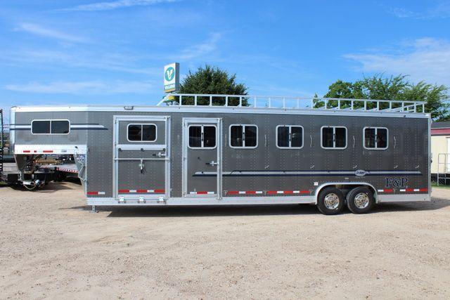 2019 Eby Legacy Series 5 + 1 Horse Slant Load CONROE, TX 9