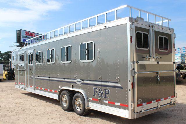 2019 Eby Legacy Series 5 + 1 Horse Slant Load CONROE, TX 11