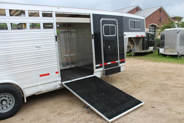 2019 Eby MAVERICK 24' STOCK/ COMBO Goose Neck with Front Tack & side CONROE, TX 25