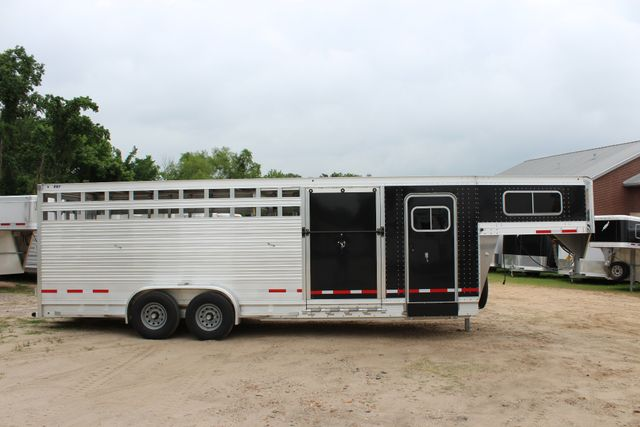 2019 Eby MAVERICK 24' STOCK/ COMBO Goose Neck with Front Tack & side CONROE, TX 26