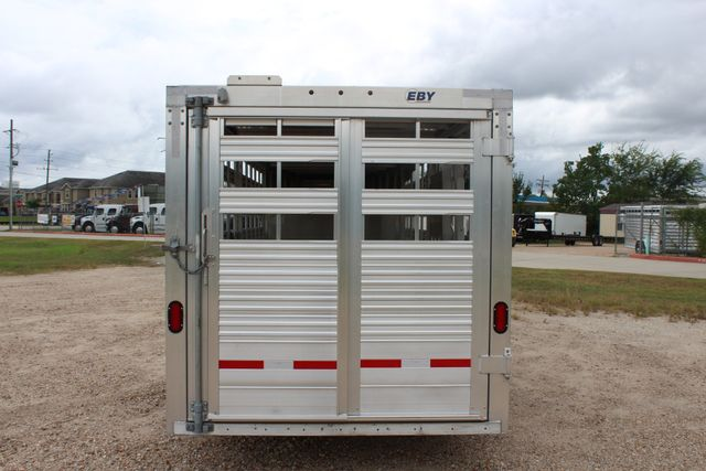 2019 Eby MAVERICK LS 20 20' LIVESTOCK TRAILER CONROE, TX 11