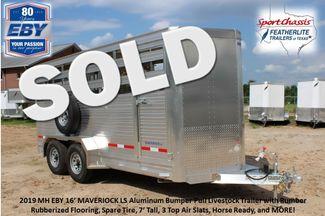 2019 Eby MAVERICK LS Livestock Cattle CONROE, TX