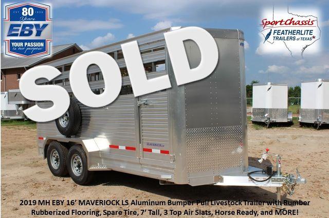 2019 Eby MAVERICK LS Livestock Cattle CONROE, TX 0