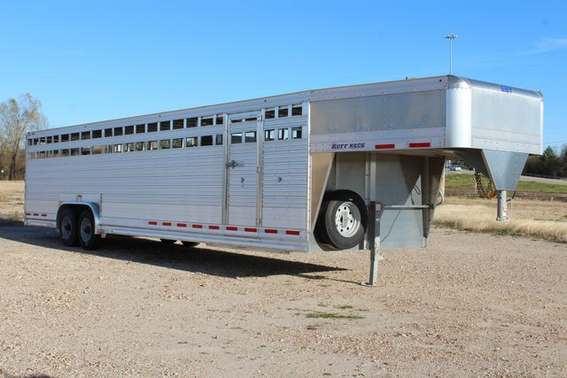 2019 Eby ROUGHNECK 32 X 8 Livestock Cattle Trailer CONROE, TX 21