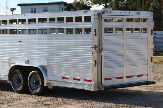 2019 Eby ROUGHNECK 32 X 8 Livestock Cattle Trailer CONROE, TX 10