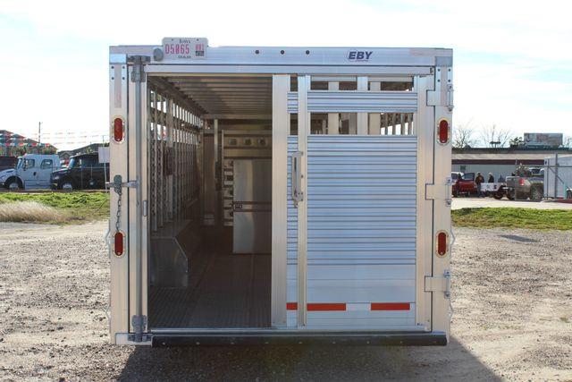2019 Eby ROUGHNECK 32 X 8 Livestock Cattle Trailer CONROE, TX 12