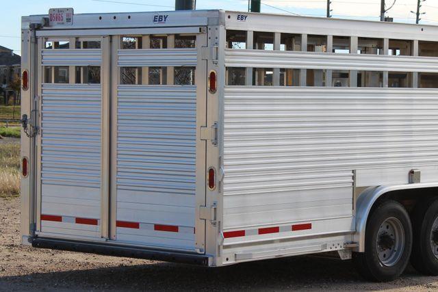 2019 Eby ROUGHNECK 32 X 8 Livestock Cattle Trailer CONROE, TX 17