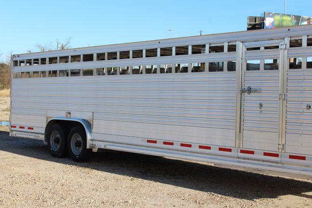 2019 Eby ROUGHNECK 32 X 8 Livestock Cattle Trailer CONROE, TX 1