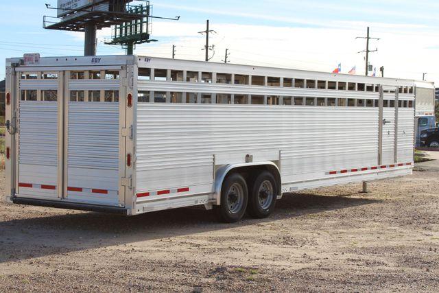2019 Eby ROUGHNECK 32 X 8 Livestock Cattle Trailer CONROE, TX 19