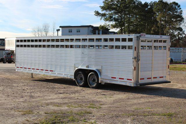 2019 Eby ROUGHNECK 32 X 8 Livestock Cattle Trailer CONROE, TX 8