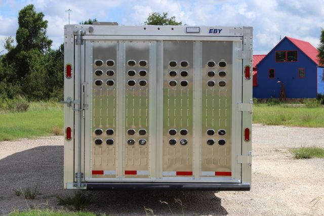 2019 Eby RUFF NECK 32 32' LIVESTOCK PUNCH SIDE TRIP 8K 3 CUT GATES CONROE, TX 12