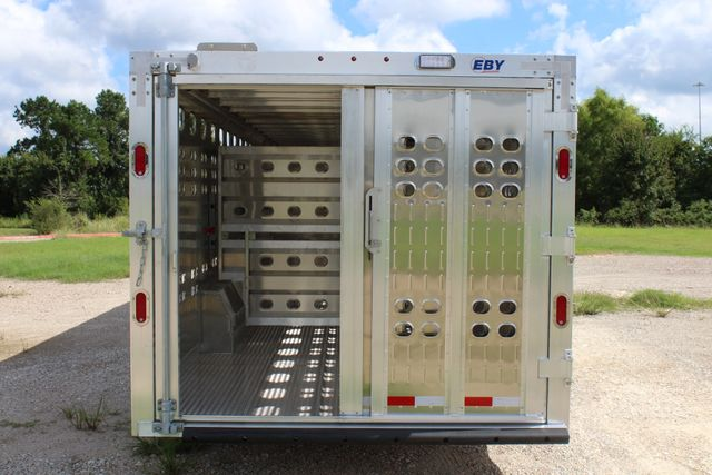 2019 Eby RUFF NECK 32 32' LIVESTOCK PUNCH SIDE TRIP 8K 3 CUT GATES CONROE, TX 13