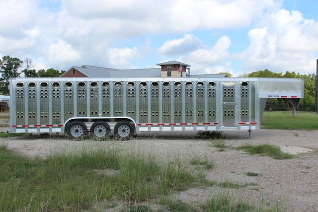 2019 Eby RUFF NECK 32 32' LIVESTOCK PUNCH SIDE TRIP 8K 3 CUT GATES CONROE, TX 27