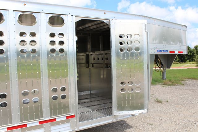 2019 Eby RUFF NECK 32 32' LIVESTOCK PUNCH SIDE TRIP 8K 3 CUT GATES CONROE, TX 30