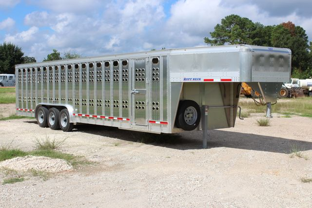 2019 Eby RUFF NECK 32 32' LIVESTOCK PUNCH SIDE TRIP 8K 3 CUT GATES CONROE, TX 31