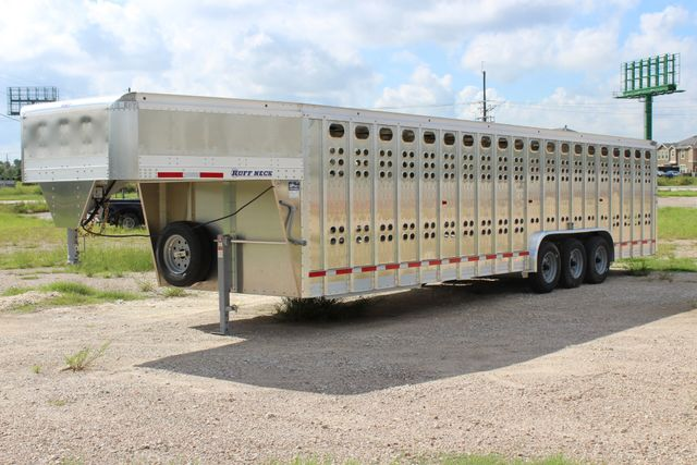 2019 Eby RUFF NECK 32 32' LIVESTOCK PUNCH SIDE TRIP 8K 3 CUT GATES CONROE, TX 6