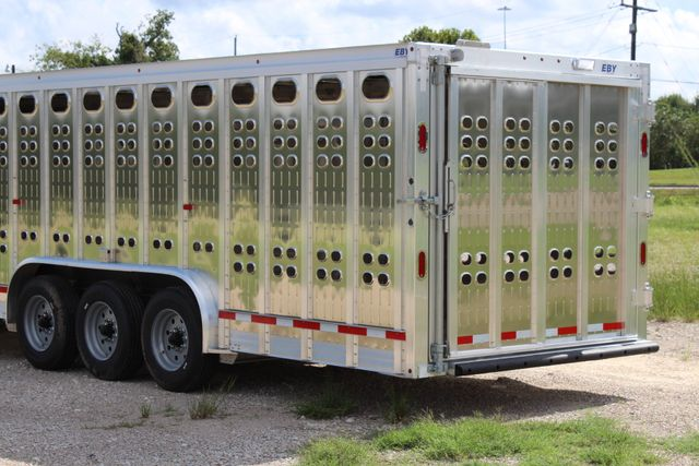 2019 Eby RUFF NECK 32 32' LIVESTOCK PUNCH SIDE TRIP 8K 3 CUT GATES CONROE, TX 11