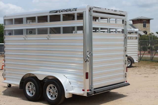 2019 Featherlite 9651 STOCK STYLE 2H SLANT LOAD WITH DRESSING ROOM CONROE, TX 10