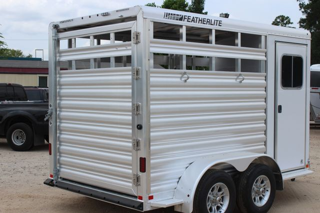 2019 Featherlite 9651 STOCK STYLE 2H SLANT LOAD WITH DRESSING ROOM CONROE, TX 20