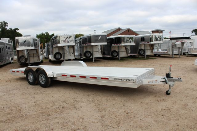 2019 Featherlite 3110 - 24 24' OPEN CAR HAULER RAISED DECK 7K DEXTER AXLES CONROE, TX 24