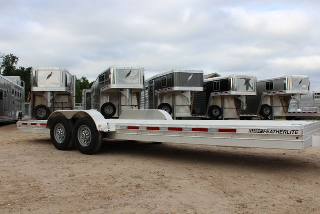 2019 Featherlite 3110 - 24 24' OPEN CAR HAULER RAISED DECK 7K DEXTER AXLES CONROE, TX 1