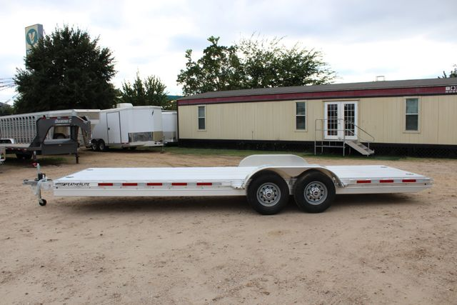2019 Featherlite 3110 - 24 24' OPEN CAR HAULER RAISED DECK 7K DEXTER AXLES CONROE, TX 10