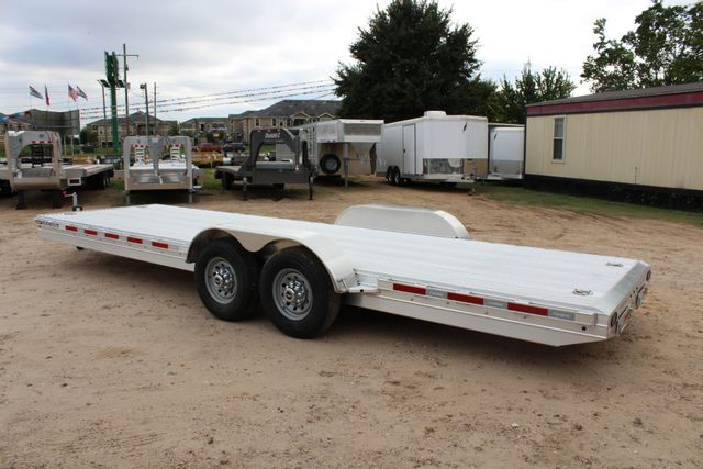 2019 Featherlite 3110 - 24 24' OPEN CAR HAULER RAISED DECK 7K DEXTER AXLES CONROE, TX 12
