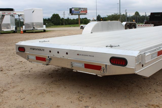 2019 Featherlite 3110 - 24 24' OPEN CAR HAULER RAISED DECK 7K DEXTER AXLES CONROE, TX 17
