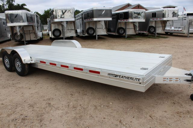 2019 Featherlite 3110 - 24 24' OPEN CAR HAULER RAISED DECK 7K DEXTER AXLES CONROE, TX 2