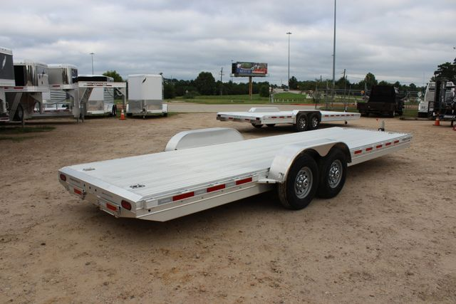 2019 Featherlite 3110 - 24 24' OPEN CAR HAULER RAISED DECK 7K DEXTER AXLES CONROE, TX 21