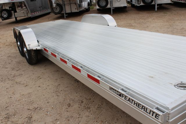 2019 Featherlite 3110 - 24 24' OPEN CAR HAULER RAISED DECK 7K DEXTER AXLES CONROE, TX 4